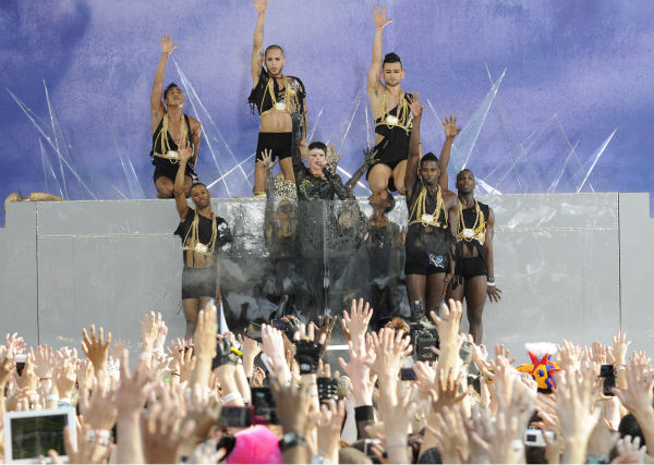 Lady Gaga performs live in Central Park to kick off the &#39;GMA Summer Concert Series,&#39; which aired on &#39;Good Morning America&#39; on May 27, 2011. <span class=meta>(Photo&#47;Ida Mae Astute)</span>