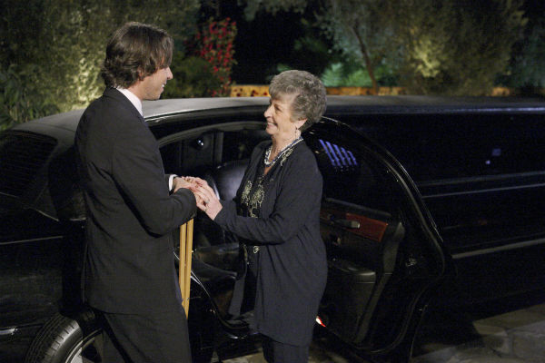 Sheryl and Ben Flajnik appear in a scene from the premiere of the 16th season of ABC&#39;s &#39;The Bachelor,&#39; which airs on Jan. 2, 2012. In the episode, Flajnik returns to the mansion for the first big cocktail party. He explains to Chris Harrison that, as painful as his experience was last season, he has no regrets. When Ben began his journey with Ashley, he was emotionally shut down due to his grief over his father&#39;s death. Ultimately, he was able to open himself up again to love. Because of that journey, he is a different man and ready to try and find love again.  <span class=meta>(ABC &#47; Rick Rowell)</span>