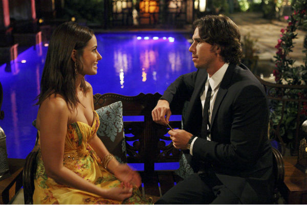 "<div class=""meta image-caption""><div class=""origin-logo origin-image ""><span></span></div><span class=""caption-text"">Nicki and Ben Flajnik appear in a scene from the premiere of the 16th season of ABC's 'The Bachelor,' which airs on Jan. 2, 2012. (ABC / Rick Rowell)</span></div>"