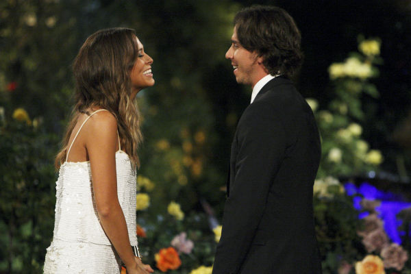"<div class=""meta ""><span class=""caption-text "">Jenna and Ben Flajnik appear in a scene from the premiere of the 16th season of ABC's 'The Bachelor,' which airs on Jan. 2, 2012. (ABC / Rick Rowell)</span></div>"