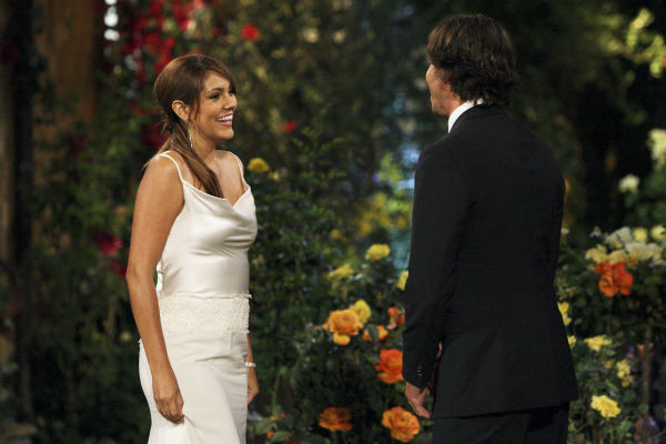"<div class=""meta ""><span class=""caption-text "">Dianna and Ben Flajnik appear in a scene from the premiere of the 16th season of ABC's 'The Bachelor,' which airs on Jan. 2, 2012. (ABC / Rick Rowell)</span></div>"