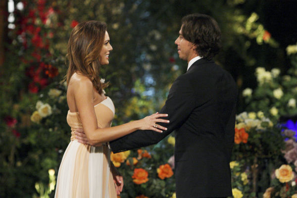 "<div class=""meta ""><span class=""caption-text "">Blakeley and Ben Flajnik appear in a scene from the premiere of the 16th season of ABC's 'The Bachelor,' which airs on Jan. 2, 2012. (ABC / Rick Rowell)</span></div>"