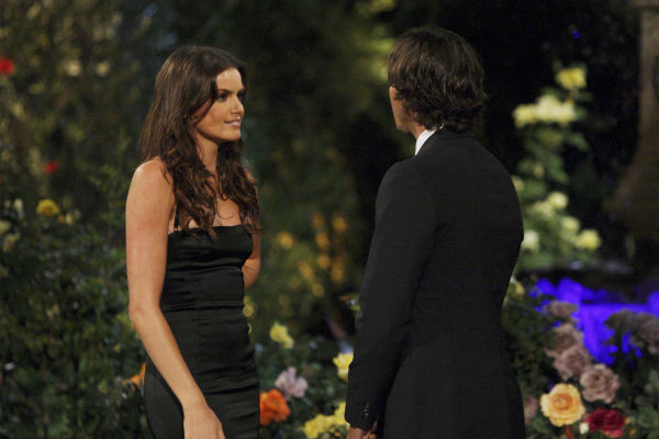 Courtney and Ben Flajnik appear in a scene from the premiere of the 16th season of ABC's 'The Bachelor,' which airs on Jan. 2, 2012.