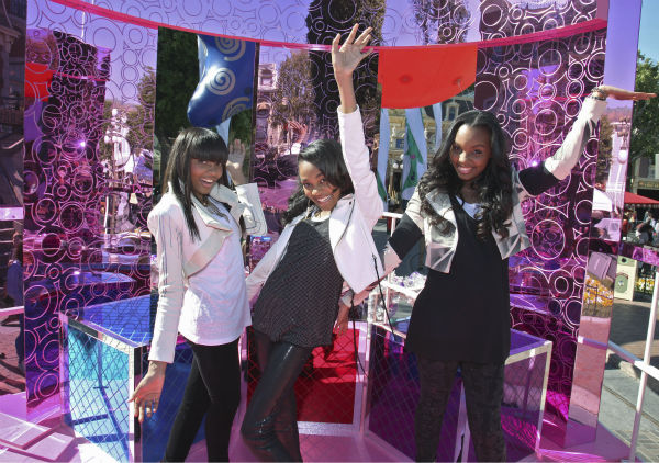 The McClain Sisters appear at the 2011 Disney Parks Christmas Day Parade at Disneyland in Anaheim, California, on Nov. 5, 2011. The show airs Christmas Day, at various times across the country, on ABC. <span class=meta>(Disneyland &#47; Paul Hiffmeyer)</span>