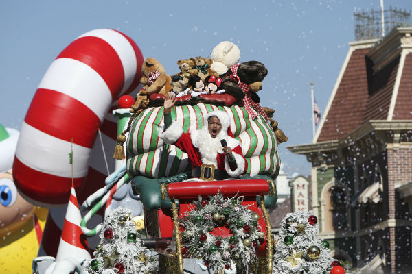 Nick Cannon appears at the 2011 Disney Parks Christmas Day Parade at Disneyland in Anaheim, California, on Nov. 5, 2011. The show airs Christmas Day, at various times across the country, on ABC.