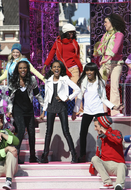 The McClain Sisters appear at the 2011 Disney Parks Christmas Day Parade at Disneyland in Anaheim, California, on Nov. 5, 2011. The show airs Christmas Day, at various times across the country, on ABC.