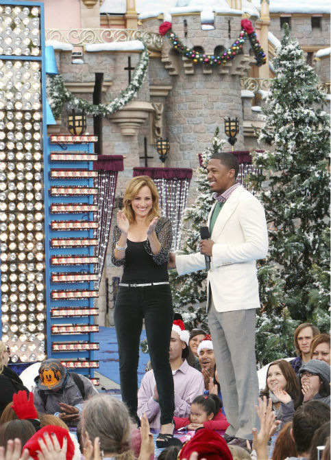 Nick Cannon appears at the 2011 Disney Parks Christmas Day Parade at Disneyland in Anaheim, California, on Nov. 5, 2011. The show airs Christmas Day, at various times across the country, on ABC.  <span class=meta>(Disneyland &#47; Paul Hiffmeyer)</span>