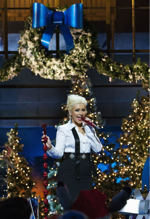 "<div class=""meta ""><span class=""caption-text "">Christina Aguilera appears at the 2011 Disney Parks Christmas Day Parade at Disneyland in Anaheim, California. The show airs Christmas Day, at various times across the country, on ABC.  (Disneyland / Paul Hiffmeyer)</span></div>"