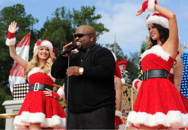 Cee Lo Green appears at the 2011 Disney Parks Christmas Day Parade at Walt Disney World's Magic Kingdom in Florida. The special airs Christmas Day, at various times across the country, on ABC.