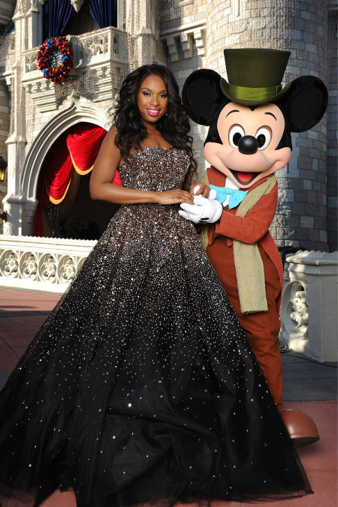 Jennifer Hudson appears at the 2011 Disney Parks...