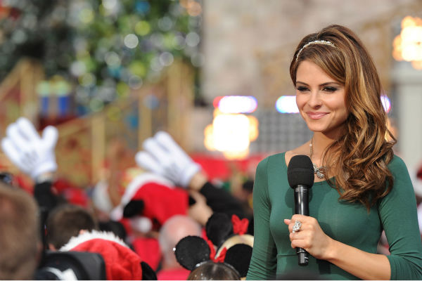 Maria Menounos appears at the 2011 Disney Parks...