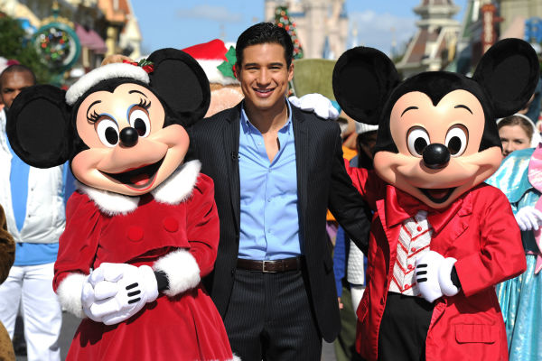Mario Lopez appears at the 2011 Disney Parks...