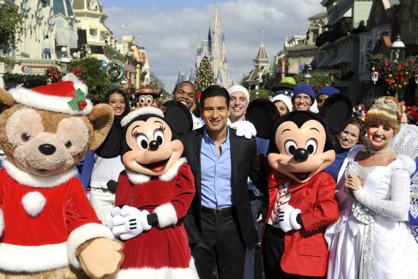 Mario Lopez appears at the 2011 Disney Parks Christmas Day Parade at Walt Disney World&#39;s Magic Kingdom in Florida. The special airs Christmas Day, at various times across the country, on ABC.  <span class=meta>(Disney &#47; Mark Ashman)</span>