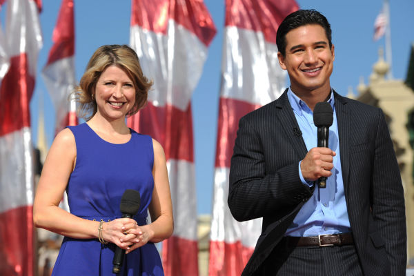 "<div class=""meta image-caption""><div class=""origin-logo origin-image ""><span></span></div><span class=""caption-text"">Mario Lopez and Samanta Brown appear at the 2011 Disney Parks Christmas Day Parade at Walt Disney World's Magic Kingdom in Florida. The special airs Christmas Day, at various times across the country, on ABC.  (Disney / Mark Ashman)</span></div>"