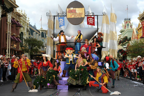 "<div class=""meta image-caption""><div class=""origin-logo origin-image ""><span></span></div><span class=""caption-text"">Pirate character actors appear at the 2011 Disney Parks Christmas Day Parade at Walt Disney World's Magic Kingdom in Florida. The special airs Christmas Day, at various times across the country, on ABC.  (Disney / Mark Ashman)</span></div>"