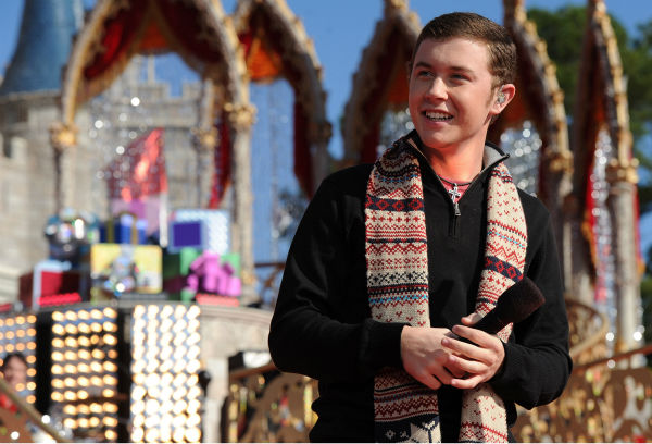 &#39;American Idol&#39; season 10 winner Scotty McCreery appears at the 2011 Disney Parks Christmas Day Parade at Walt Disney World&#39;s Magic Kingdom in Florida. The special airs Christmas Day, at various times across the country, on ABC.  <span class=meta>(Disney &#47; Mark Ashman)</span>