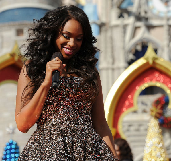 Jennifer Hudson appears at the 2011 Disney Parks Christmas Day Parade at Walt Disney World&#39;s Magic Kingdom in Florida. The special airs Christmas Day, at various times across the country, on ABC.  <span class=meta>(Disney &#47; Mark Ashman)</span>