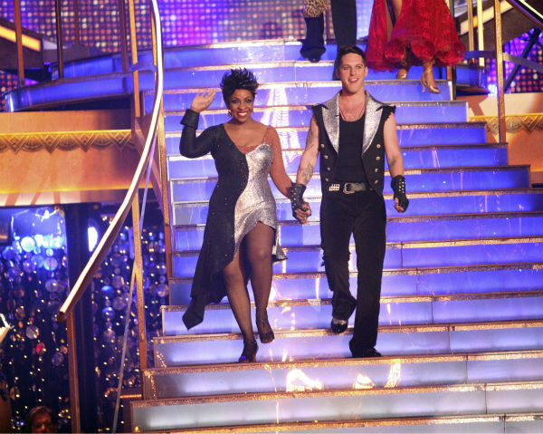 Gladys Knight and her partner Tristan MacManus received 20 out of 30 points from the judges for their Tango on week 4 of &#39;Dancing With The Stars&#39; on April 9, 2012.  <span class=meta>(ABC Photo &#47; Adam Taylor)</span>