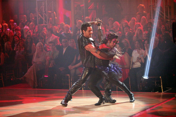 &#39;The View&#39; co-host Sherri Shepherd and her partner Valentin Chmerkovskiy received 21 out of 30 points from the judges for their Tango on week 4 of &#39;Dancing With The Stars&#39; on April 9, 2012. <span class=meta>(ABC Photo &#47; Adam Taylor)</span>