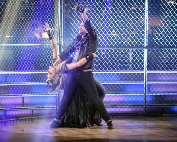 "<div class=""meta image-caption""><div class=""origin-logo origin-image ""><span></span></div><span class=""caption-text"">Classical singer Katherine Jenkins and her partner Mark Ballas received 24 out of 30 points from the judges for their Paso Doble on week 4 of 'Dancing With The Stars' on April 9, 2012. (ABC Photo / Adam Taylor)</span></div>"