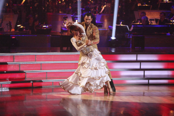 "<div class=""meta ""><span class=""caption-text "">Melissa Gilbert, a former child star who played Laura on 'Little House on the Prairie,' and her partner Maksim Chmerkovskiy received 22 out of 30 points from the judges for their Paso Doble on week 4 of 'Dancing With The Stars' on April 9, 2012. Host Tom Bergeron said Gilbert was taken to the hospital before the end of the taping of the show. She said on Twitter: 'I'm alright. Mild concussion and whiplash. Very soon I will be safely home resting and being taken care of. @MaksimC you are my champion. I adore you. @GavinDeGraw bless your heart for carrying me down those stairs!'  (ABC Photo / Adam Taylor)</span></div>"