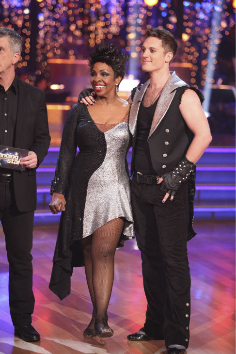 Gladys Knight and her partner Tristan MacManus received 20 out of 30 points from the judges for their Tango on week 4 of 'Dancing With The Stars' on April 9, 2012.