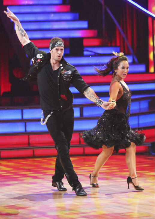Telenovela star William Levy and his partner Cheryl Burke received 22 out of 30 points from the judges for their Jive on week 4 of 'Dancing With The Stars' on April 9, 2012.