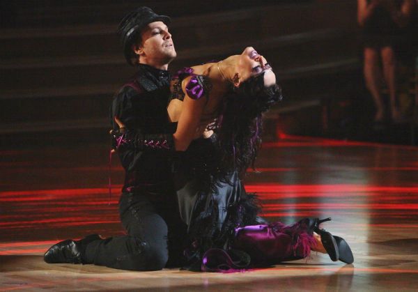 Singer Gavin DeGraw and his partner Karina Smirnoff received 23 out of 30 points from the judges for their Tango on week 4 of &#39;Dancing With The Stars&#39; on April 9, 2012. <span class=meta>(ABC Photo &#47; Adam Taylor)</span>