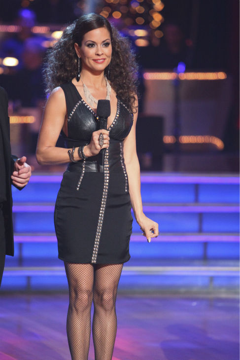 "<div class=""meta ""><span class=""caption-text "">Brooke Burke Charvet appears on week 4 of 'Dancing With The Stars' on April 9, 2012. (ABC Photo / Adam Taylor)</span></div>"