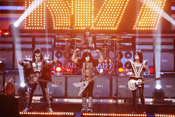 KISS appears on week 4 of 'Dancing With The Stars' on April 9, 2012.