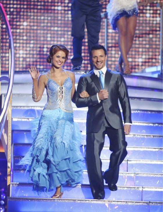 "<div class=""meta image-caption""><div class=""origin-logo origin-image ""><span></span></div><span class=""caption-text"">Former member of the boy band 98 Degrees, Drew Lachey and his partner Anna Trebunskaya received 21.5 out of 30 points from the judges for their Fox Trot on the season premiere of 'Dancing With The Stars: All-Stars,' which aired on September 24, 2012.  (ABC Photo/ Adam Taylor)</span></div>"