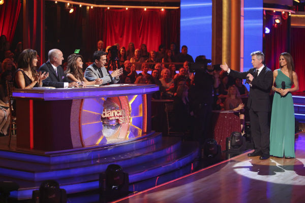 "<div class=""meta ""><span class=""caption-text "">DANCING WITH THE STARS: ALL-STARS -  ""Episode 1504"" - The competition heated up with world famous choreographer and recording artist Paula Abdul joining the judges in the ballroom as a special guest judge. For the first time in the show's history, the couples performed new dance styles that their competitors had chosen for them, on ""Dancing with the Stars: All-Stars,"" MONDAY, OCTOBER 15 (8:00-10:01 p.m., ET) on the ABC Television network. (ABC/ADAM TAYLOR) CARRIE ANN INABA, LEN GOODMAN, PAULA ABDUL, BRUNO TONIOLI, TOM BERGERON, BROOKE BURKE CHARVET (ABC Photo / Adam Taylor)</span></div>"