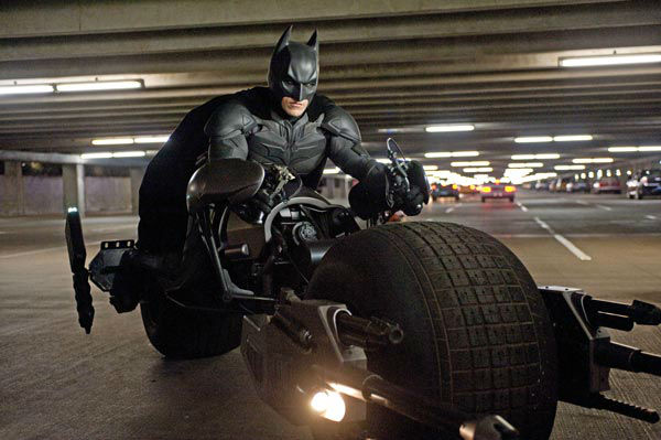 Christian Bale appears as Batman in 'The Dark...
