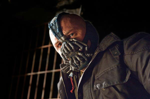"<div class=""meta ""><span class=""caption-text "">Tom Hardy appears as Bane in 'The Dark Knight Rises,' set to hit theaters on July 20, 2012. (Warner Bros. Pictures/Ron Phillips)</span></div>"