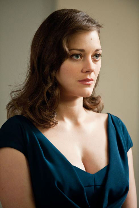 Marion Cotillard as Miranda Tate in 'The Dark...