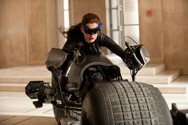 Anne Hathaway appears as Selina Kyle&#47;Catwoman in &#39;The Dark Knight Rises,&#39; set to hit theaters on July 20, 2012. <span class=meta>(Warner Bros. Pictures&#47;Ron Phillips)</span>