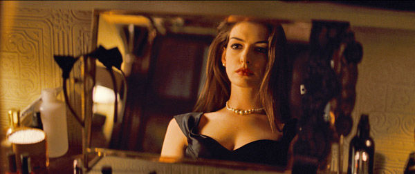 Anne Hathaway appears as Selina Kyle/Catwoman in 'The Dark Knight Rises,' set to hit theaters on July 20, 2012.
