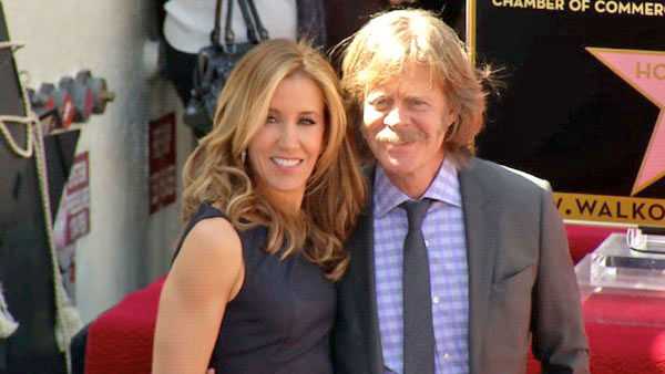 Felicity Huffman and William H. Macy received...