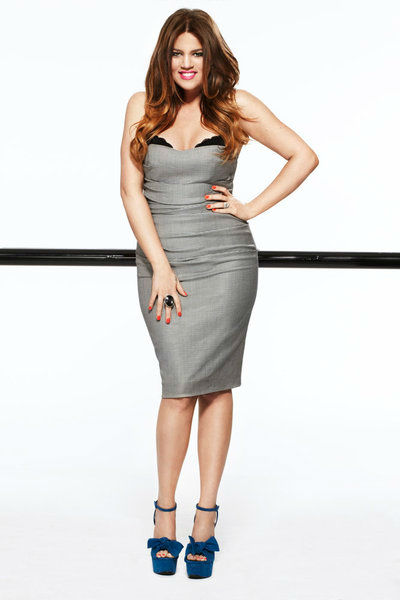 Khloe Kardashian appears in a promotional photo in 2012 for 'Keeping Up With The Kardashians.'