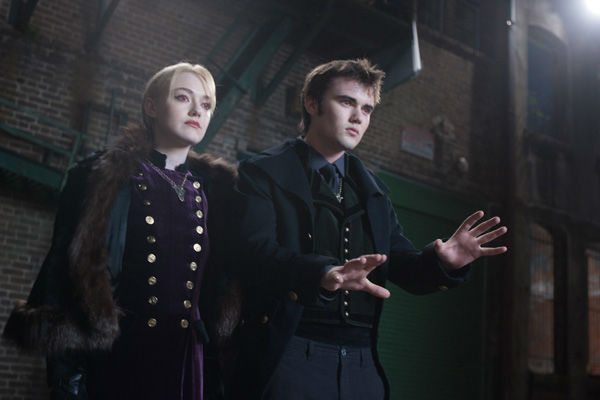 Dakota Fanning and Cameron Bright appear in a scene from the 2012 movie 'Twilight: Breaking Dawn - Part 2.'