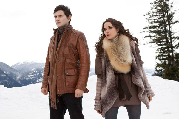Christian Camargo and Mia Maestro appear in a scene from the 2012 movie 'Twilight: Breaking Dawn - Part 2.'