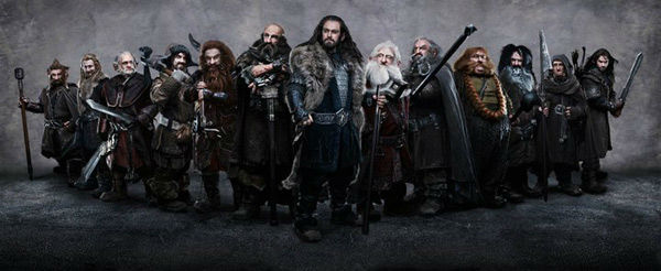 Jed Brophy, Dean O&#39;Gorman, Mark Hadlow, James Nesbitt, Peter Hambleton, Graham McTavish, Richard Armitage, Ken Stott, John Callen, Stephen Hunter, William Kircher, Adam Brown and Aidan Turner appear in a promotional photo for &#39;The Hobbit: An Unexpected Journey,&#39; a 2012 Warner Bros. Pictures release. It is the first of a three-part prequel to the hit &#39;Lord of the Rings&#39; franchise. <span class=meta>(New Line Cinema &#47; MGM &#47; James Fisher)</span>