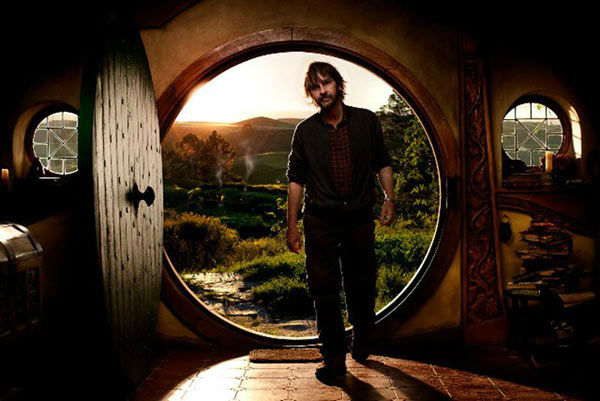 Director Peter Jackson appears on the set of &#39;The Hobbit: An Unexpected Journey,&#39; a 2012 Warner Bros. Pictures release. It is the first of a three-part prequel to the hit &#39;Lord of the Rings&#39; franchise. <span class=meta>(New Line Cinema &#47; MGM &#47; James Fisher)</span>