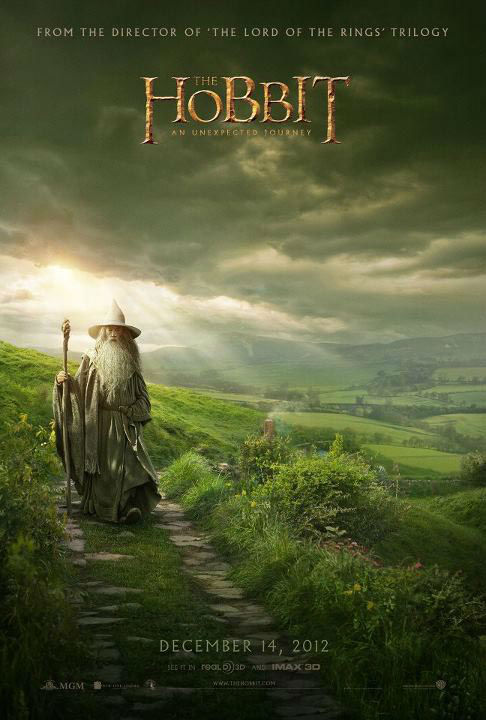 Ian McKellen appears as Gandalf in a promotional poster for New Line Cinema's and MGM's fantasy adventure 'the Hobbit: An Unexpected Journey,' a 2012 Warner Bros. Pictures release.