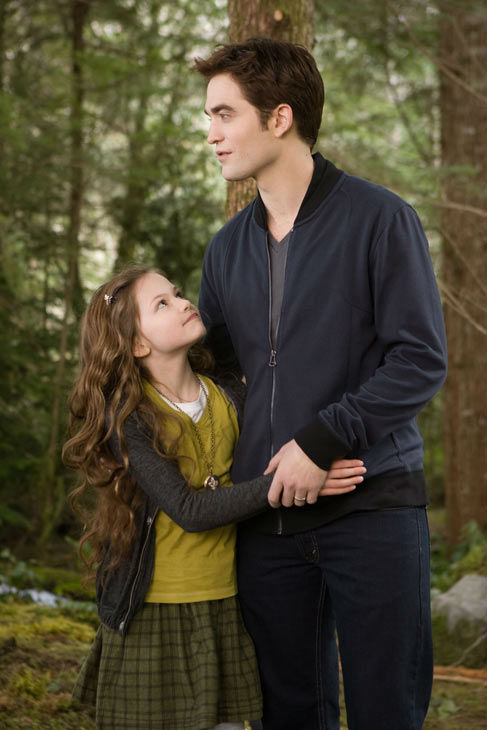 Taylor Lautner and Mackenzie Foy appear in a scene from th