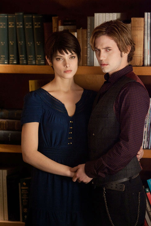 "<div class=""meta image-caption""><div class=""origin-logo origin-image ""><span></span></div><span class=""caption-text"">Ashley Greene and Jackson Rathbone appear in a still from 'The Twilight Saga: Breaking Dawn - Part 2,' which opens in theaters on November 16, 2012. (Andrew Cooper / Summit Entertainment / SMPSP)</span></div>"