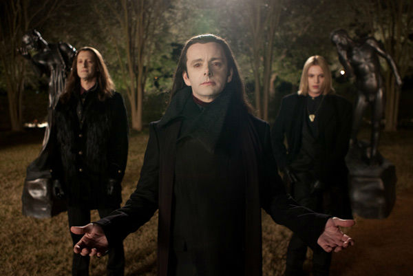 Christopher Heyerdahl, Michael Sheen and Jamie Campbell Bower appear in a still from 'The Twilight Saga: Breaking Dawn - Part 2,' which opens in theaters on November 16, 2012.