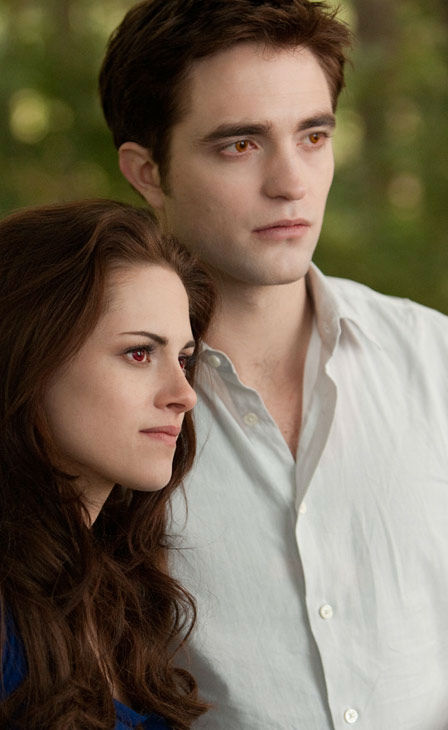 Kristen Stewart and Robert Pattinson appear in a scene from the 2012 movie &#39;Twilight: Breaking Dawn - Part 2,&#39; which opens in theaters on November 16, 2012. <span class=meta>(Andrew Cooper &#47; Summit Entertainment &#47; SMPSP)</span>