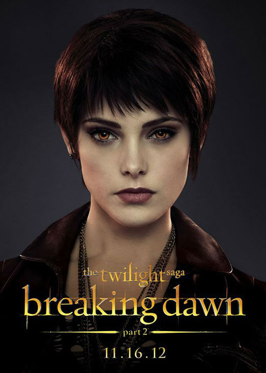 Ashley Greene, who portrays Alice Cullen in 'The Twilight Saga: Breaking Dawn - Part 2,' appears in a cast poster for the film, which is slated for release on November 16, 2012.