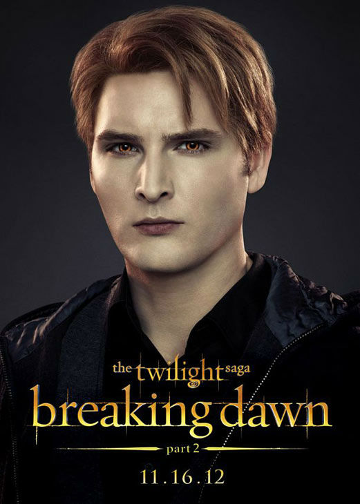 Peter Facinelli, who portrays Dr. Carlisle Cullen in 'The Twilight Saga: Breaking Dawn - Part 2,' appears in a cast poster for the film, which is slated f